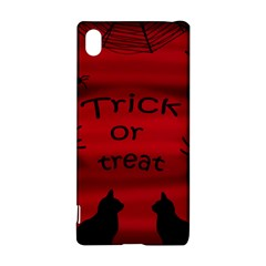 Trick or treat - black cat Sony Xperia Z3+