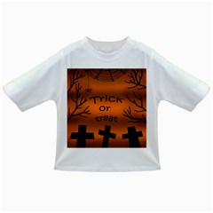 Trick or treat - cemetery  Infant/Toddler T-Shirts