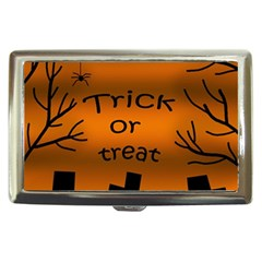 Trick or treat - cemetery  Cigarette Money Cases
