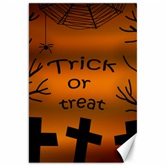 Trick or treat - cemetery  Canvas 20  x 30