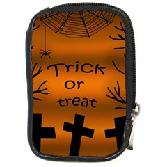 Trick or treat - cemetery  Compact Camera Cases