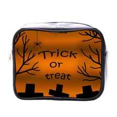 Trick or treat - cemetery  Mini Toiletries Bags