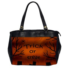 Trick or treat - cemetery  Office Handbags