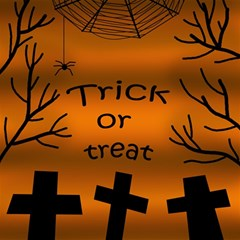 Trick or treat - cemetery  Magic Photo Cubes