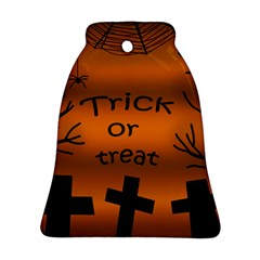 Trick or treat - cemetery  Bell Ornament (2 Sides)