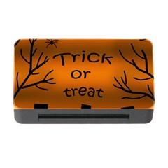 Trick or treat - cemetery  Memory Card Reader with CF