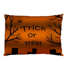 Trick or treat - cemetery  Pillow Case (Two Sides)