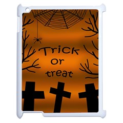 Trick or treat - cemetery  Apple iPad 2 Case (White)