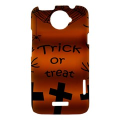 Trick or treat - cemetery  HTC One X Hardshell Case