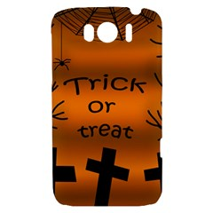 Trick or treat - cemetery  HTC Sensation XL Hardshell Case
