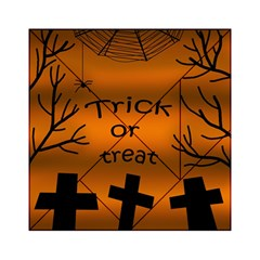 Trick or treat - cemetery  Acrylic Tangram Puzzle (6  x 6 )