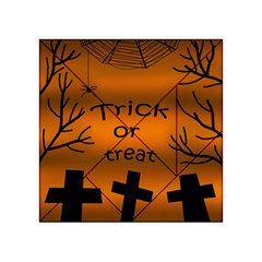 Trick or treat - cemetery  Acrylic Tangram Puzzle (4  x 4 )