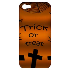 Trick or treat - cemetery  Apple iPhone 5 Hardshell Case