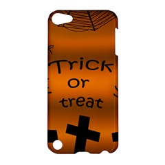 Trick or treat - cemetery  Apple iPod Touch 5 Hardshell Case