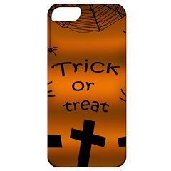 Trick or treat - cemetery  Apple iPhone 5 Classic Hardshell Case