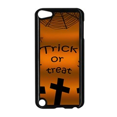 Trick or treat - cemetery  Apple iPod Touch 5 Case (Black)