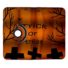 Trick or treat - cemetery  Samsung Galaxy Note II Flip 360 Case