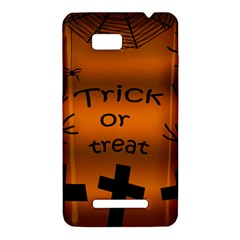 Trick or treat - cemetery  HTC One SU T528W Hardshell Case