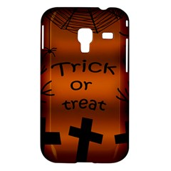 Trick or treat - cemetery  Samsung Galaxy Ace Plus S7500 Hardshell Case