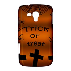 Trick or treat - cemetery  Samsung Galaxy Duos I8262 Hardshell Case