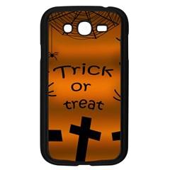 Trick or treat - cemetery  Samsung Galaxy Grand DUOS I9082 Case (Black)
