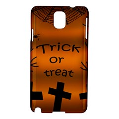 Trick or treat - cemetery  Samsung Galaxy Note 3 N9005 Hardshell Case