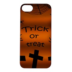 Trick or treat - cemetery  Apple iPhone 5S/ SE Hardshell Case