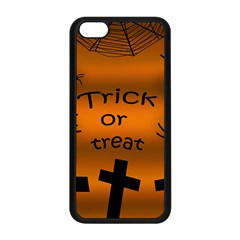 Trick Or Treat   Cemetery  Apple Iphone 5c Seamless Case (black)