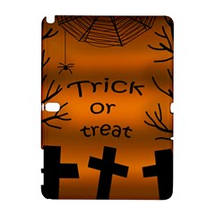 Trick or treat - cemetery  Samsung Galaxy Note 10.1 (P600) Hardshell Case