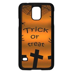 Trick or treat - cemetery  Samsung Galaxy S5 Case (Black)