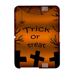 Trick or treat - cemetery  Amazon Kindle Fire (2012) Hardshell Case