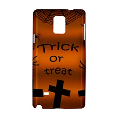 Trick or treat - cemetery  Samsung Galaxy Note 4 Hardshell Case