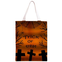 Trick or treat - cemetery  Classic Light Tote Bag