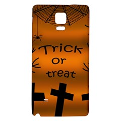 Trick or treat - cemetery  Galaxy Note 4 Back Case