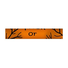 Trick Or Treat   Cemetery  Flano Scarf (mini)