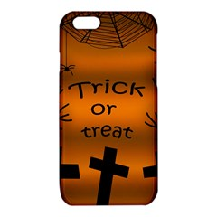 Trick or treat - cemetery  iPhone 6/6S TPU Case