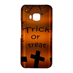 Trick or treat - cemetery  HTC One M9 Hardshell Case