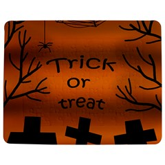 Trick or treat - cemetery  Jigsaw Puzzle Photo Stand (Rectangular)