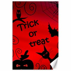 Trick or treat - Halloween landscape Canvas 24  x 36