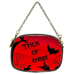 Trick or treat - Halloween landscape Chain Purses (Two Sides)