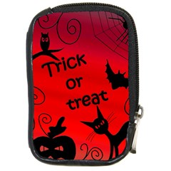 Trick or treat - Halloween landscape Compact Camera Cases