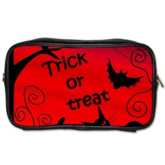 Trick or treat - Halloween landscape Toiletries Bags