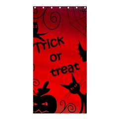 Trick or treat - Halloween landscape Shower Curtain 36  x 72  (Stall)