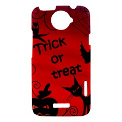 Trick or treat - Halloween landscape HTC One X Hardshell Case