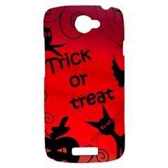 Trick or treat - Halloween landscape HTC One S Hardshell Case