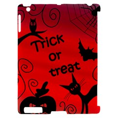 Trick or treat - Halloween landscape Apple iPad 2 Hardshell Case (Compatible with Smart Cover)