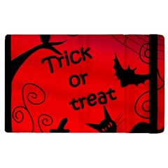 Trick or treat - Halloween landscape Apple iPad 2 Flip Case