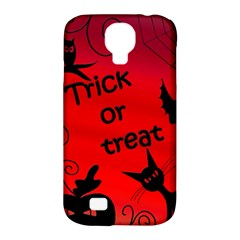 Trick or treat - Halloween landscape Samsung Galaxy S4 Classic Hardshell Case (PC+Silicone)