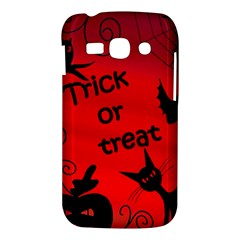 Trick or treat - Halloween landscape Samsung Galaxy Ace 3 S7272 Hardshell Case