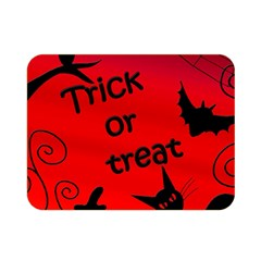 Trick or treat - Halloween landscape Double Sided Flano Blanket (Mini)